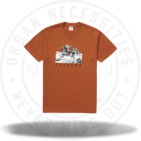 Supreme Riders Tee Rust-Urban Necessities