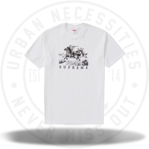 Supreme Riders Tee White-Urban Necessities