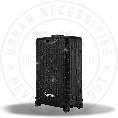 Supreme RIMOWA Check-In L Black-Urban Necessities
