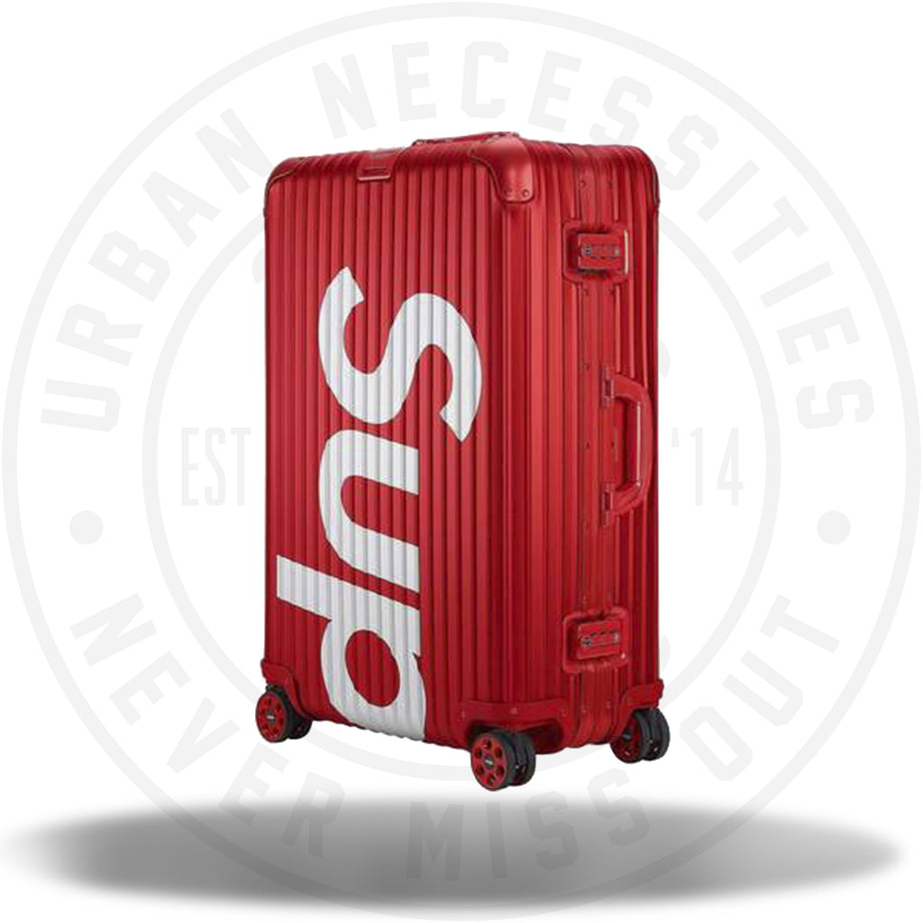 Supreme RIMOWA Topas Multiwheel 82L Red-Urban Necessities