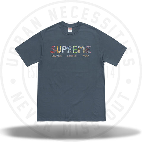 Supreme Rocks Tee Dark Slate-Urban Necessities