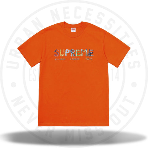 Supreme Rocks Tee Orange-Urban Necessities