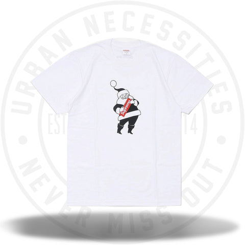 Supreme Santa Tee White-Urban Necessities
