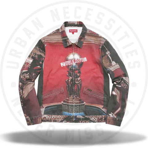 Supreme Scarface The World is Yours Denim Jacket-Urban Necessities