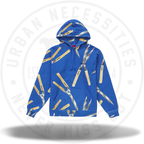 Supreme Shears Hooded Sweatshirt Light Royal-Urban Necessities