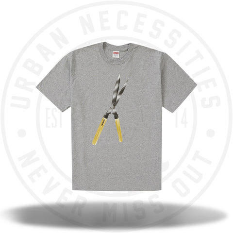 Supreme Shears Tee Heather Grey-Urban Necessities