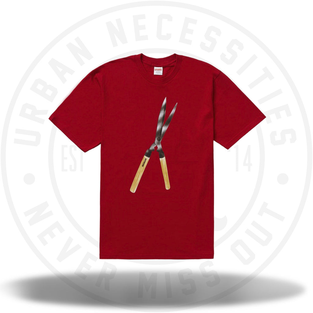 Supreme Shears Tee Red-Urban Necessities