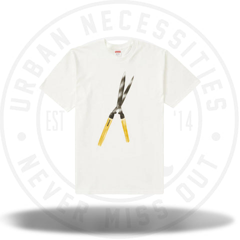 Supreme Shears Tee White-Urban Necessities