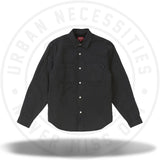 Supreme Sherpa Lined Denim Shirt Black-Urban Necessities