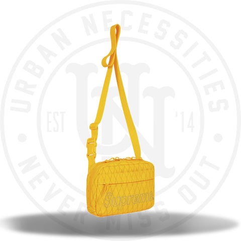 Supreme Shoulder Bag (FW18) Yellow-Urban Necessities