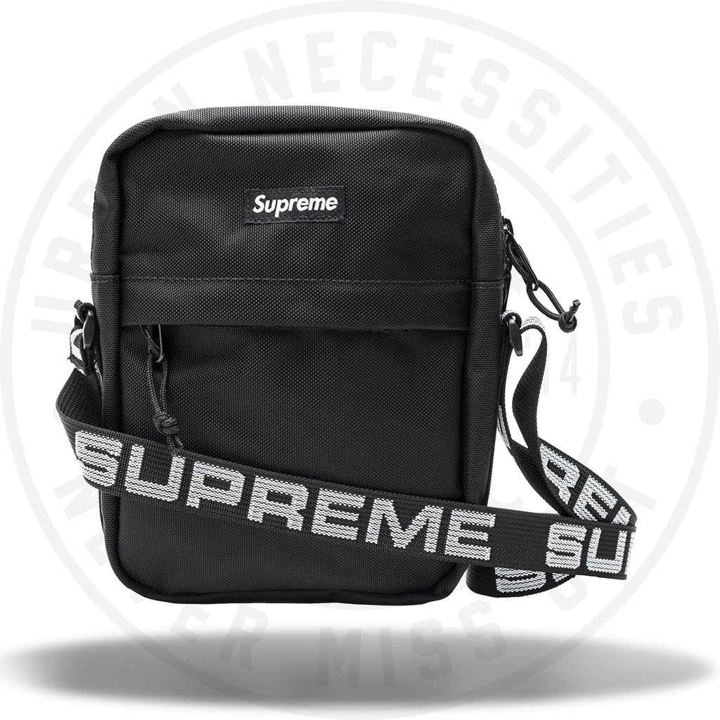 Supreme Shoulder Bag (SS18) Black-Urban Necessities