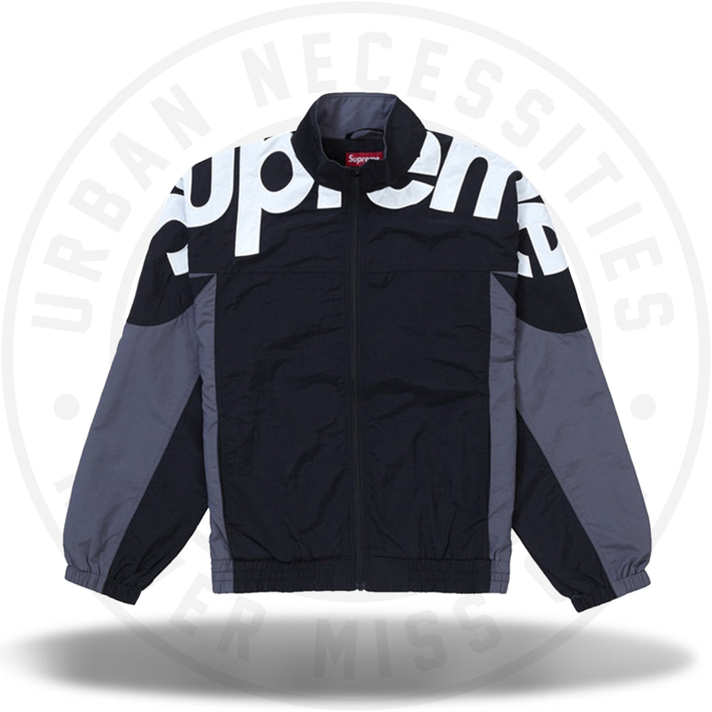Supreme Shoulder Logo Track Jacket Black-Urban Necessities