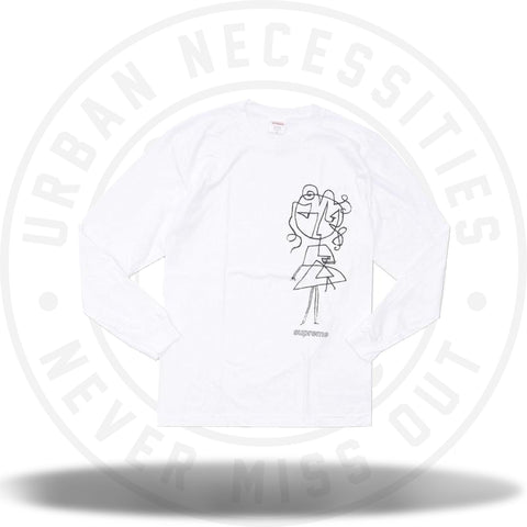 Supreme Sketch Tee White-Urban Necessities