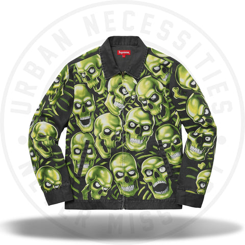 Supreme Skull Pile Work Jacket Multi-Urban Necessities