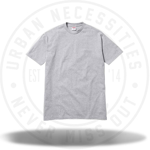 Supreme Skyscraper Tee Heather Grey-Urban Necessities