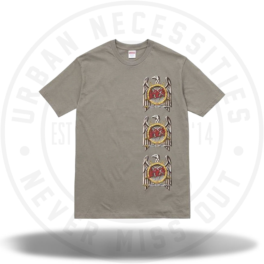 Supreme Slayer Eagle Tee Stone-Urban Necessities