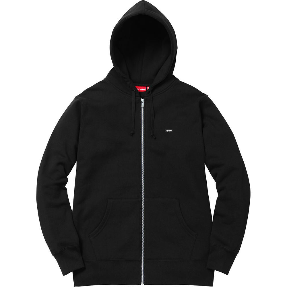 Supreme Small Box Logo Zip Up Sweat Black