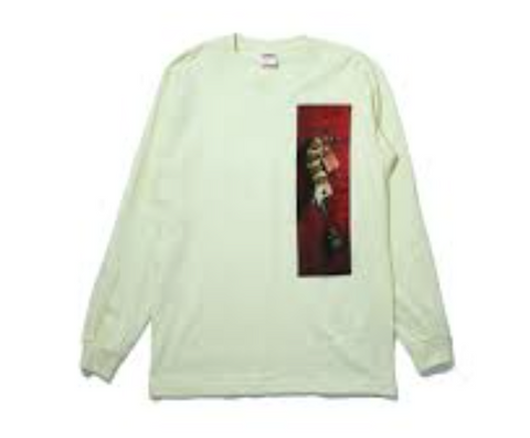 Supreme Snaketrap L/S Tee Pale Yellow-Urban Necessities