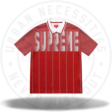 Supreme Soccer Polo Red-Urban Necessities