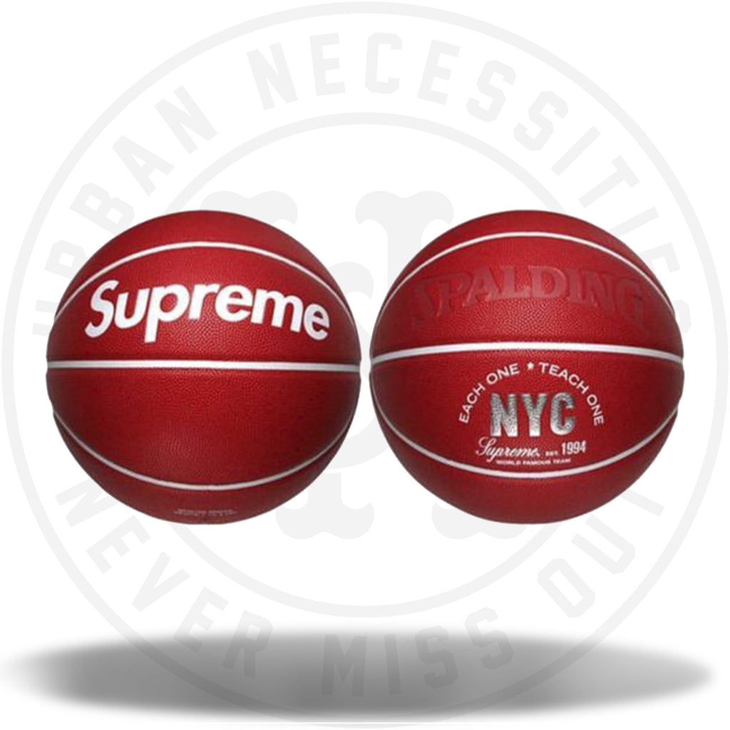 Supreme Spalding Basketball-Urban Necessities
