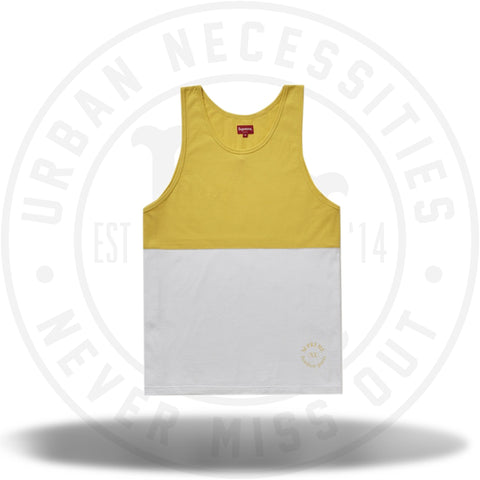 Supreme Split Tank Top Yellow-Urban Necessities
