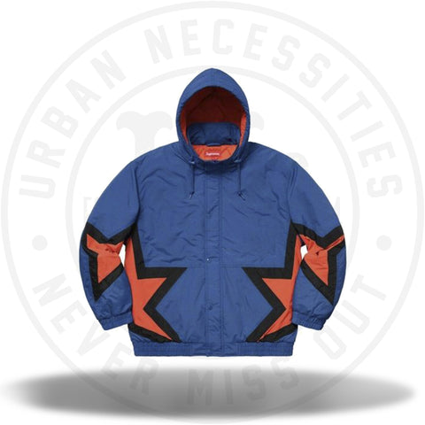 Supreme Stars Puffy Jacket Royal-Urban Necessities