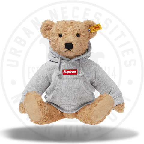 Supreme Steiff Bear Heather Grey-Urban Necessities