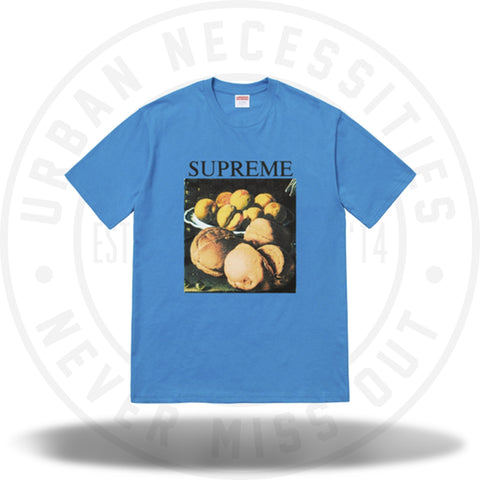 Supreme Still Life Tee Bright Blue-Urban Necessities
