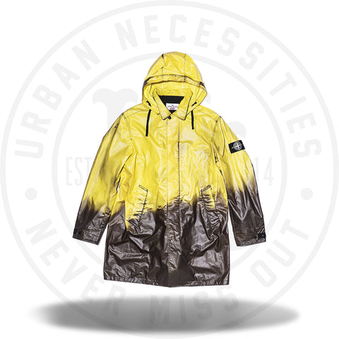 Supreme Stone Island Heat Reactive Trench Coat Black-Urban Necessities