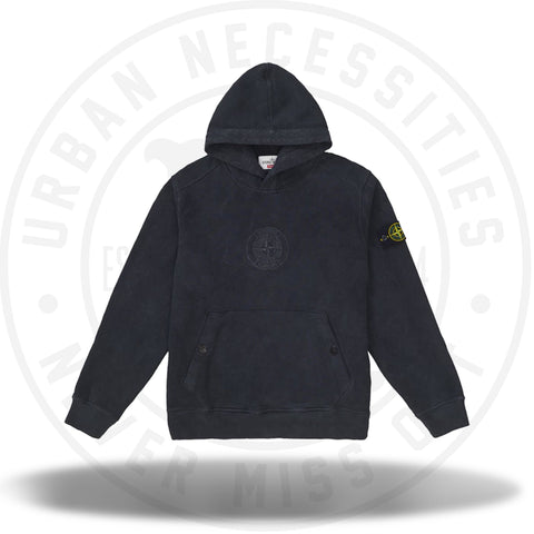 Supreme Stone Island Hooded Sweatshirt (SS19) Black-Urban Necessities