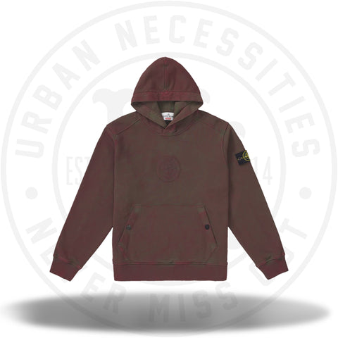 Supreme Stone Island Hooded Sweatshirt (SS19) Red-Urban Necessities