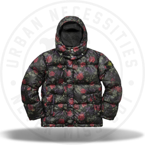 Supreme Stone Island Lamy Cover Stampato Puffy Jacket Black-Urban Necessities