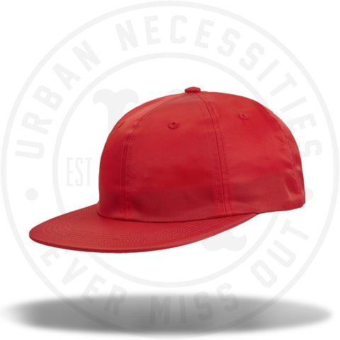 Supreme Strap Logo 6-Panel Red-Urban Necessities