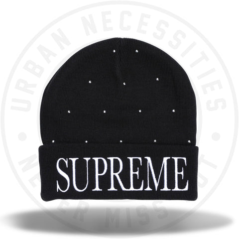 Supreme Studded Beanie Black-Urban Necessities