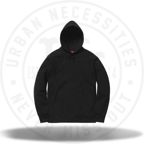 Supreme Studded Hooded Sweatshirt Black-Urban Necessities