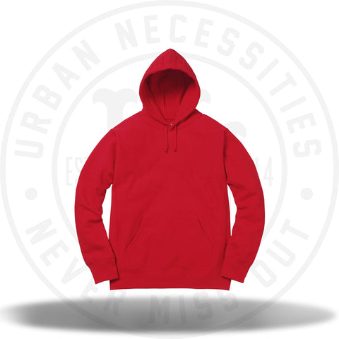 Supreme Studded Hooded Sweatshirt Red-Urban Necessities