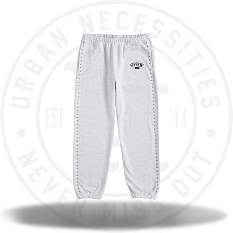 Supreme Studded Sweatpant Ash Grey-Urban Necessities