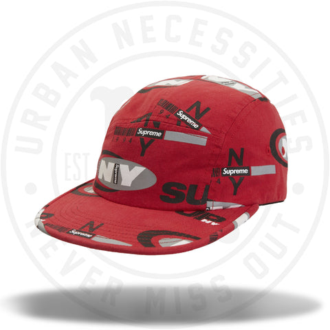 Supreme Supreme NY Camp Cap Red-Urban Necessities