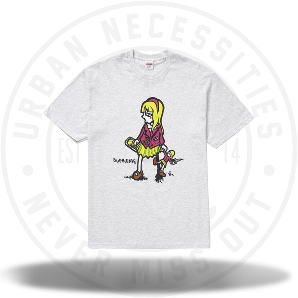 Supreme Suzie Switchblade Tee Ash Grey-Urban Necessities