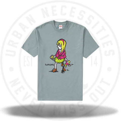 Supreme Suzie Switchblade Tee Dark Sage-Urban Necessities