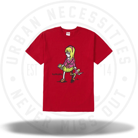 Supreme Suzie Switchblade Tee Red-Urban Necessities