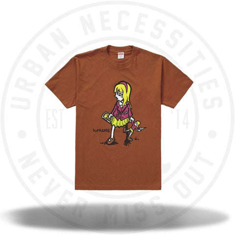 Supreme Suzie Switchblade Tee Rust-Urban Necessities