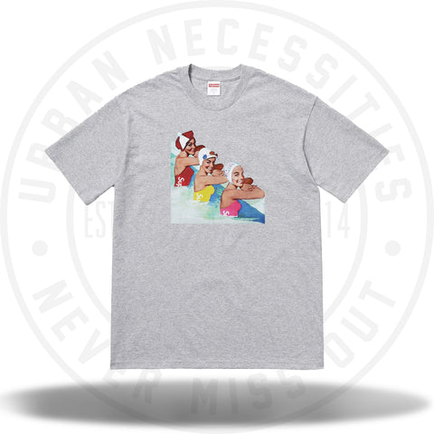Supreme Swimmers Tee Heather Grey-Urban Necessities