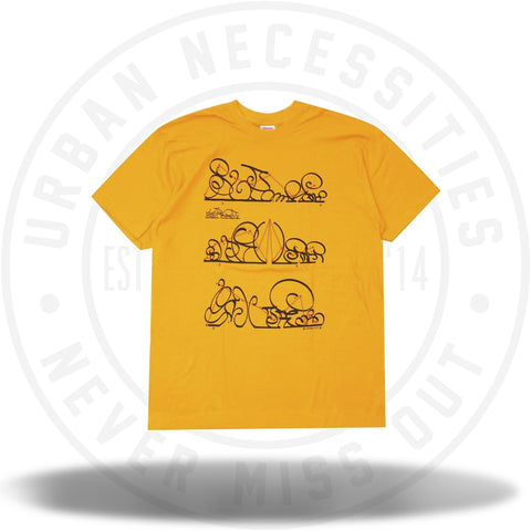 Supreme System Tee Bright Orange-Urban Necessities