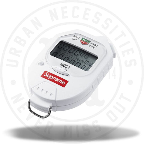 Supreme Tag Heuer Pocket Pro Stopwatch White-Urban Necessities