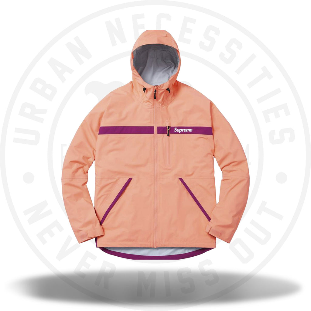 Supreme Taped Seam Jacket Light Coral peach-Urban Necessities