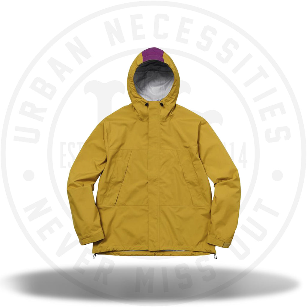 Supreme Taped Seam Jacket (SS18) Gold-Urban Necessities