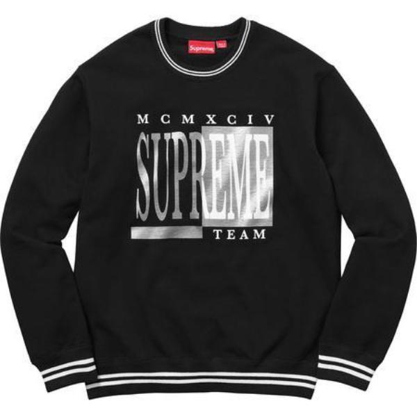 Supreme Team Crewneck Black-Urban Necessities