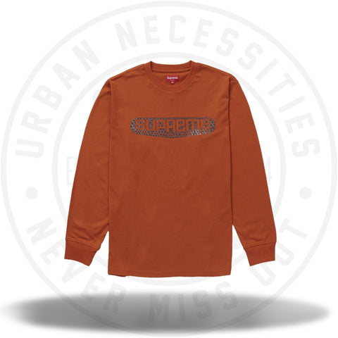 Supreme Tech L/S Top Rust-Urban Necessities