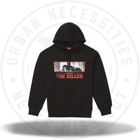 Supreme The Killer Hooded Sweatshirt Black-Urban Necessities